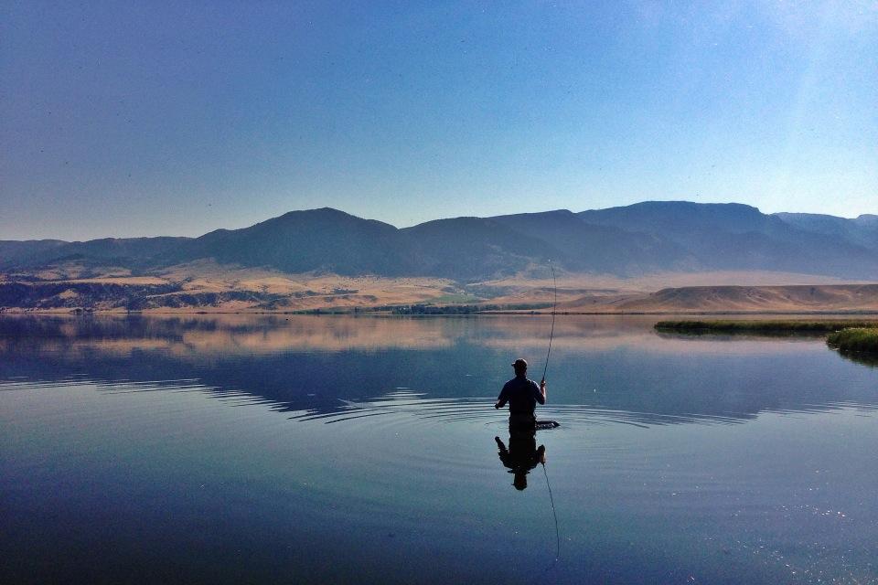 Ennis Lake Ennis Montana Discover Montana Outfitting